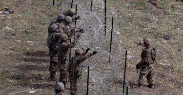 MIGRANT INFLUX: Pentagon sanctions deployment of active-duty troops at Mexico border