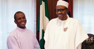 'A president that is fighting corruption needs to be supported', Mbaka endorses Buhari
