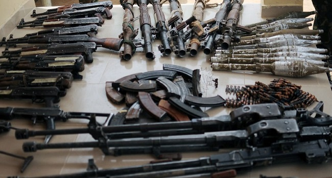 'Refusal to follow ECOWAS agreement reason illegal weapons flood Nigeria'