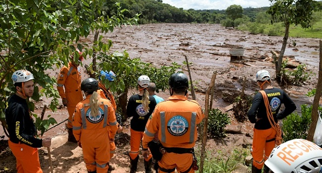 Evacuations suspended as death toll from Brazil dam collapse rises to 58