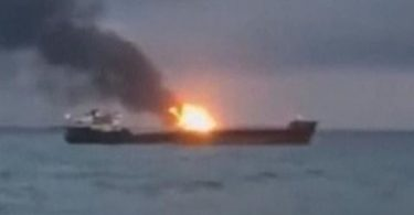 10 sailors feared dead, 14 others rescued after 2 ships explode