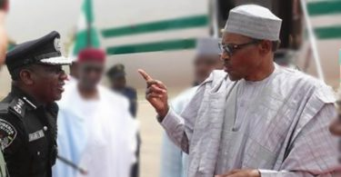 I am disappointed in the police- Buhari