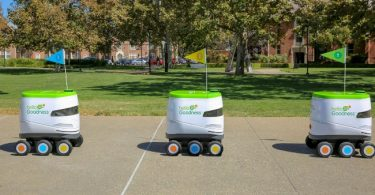 Meet fleet of snack-carrying robots serving students on University campus