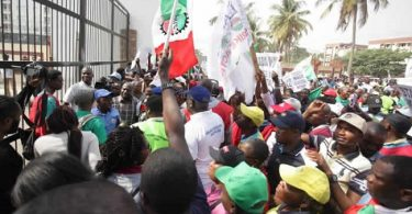 MINIMUM WAGE: NLC holds protests in Lagos, Abuja