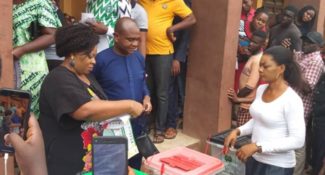 Moghalu expresses disappointment over failure of card readers in his ward