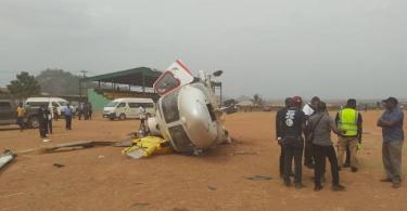 BREAKING... VP Osinbajo survives helicopter crash in Kabba, Kogi State