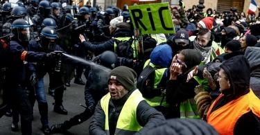 "FRANCE: Macron condemns attack on prominent intellectual by ""yellow vest"" protesters"