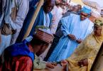 Buhari, Aisha cast votes in Daura