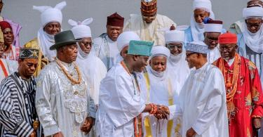 Sultan, other traditional rulers visit Buhari, ask Atiku, others to accept poll results as God's will