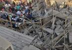 Five killed, dozens trapped as building collapses in India