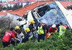 At least 29 Germans killed in Madeira tourist bus crash