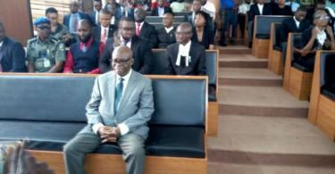 Onnoghen arrives CCT, awaits fate