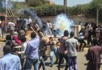 Security forces disperse Sudanese protesters, fire tear gas, gunshots