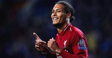 Van Dijk edges Raheem Sterling to emerge PFA player of the year