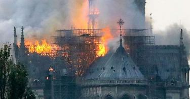 France: Macron vows to restore Notre Dame cathedral after devastating fire outbreak
