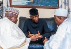MINIMUM WAGE: Osinbajo challenges new governors to rack their brains