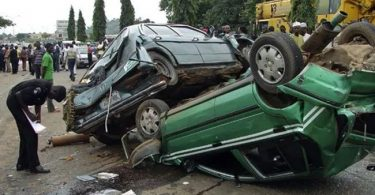 Multiple auto crash claims 2 lives along Abeokuta Sagamu Expressway