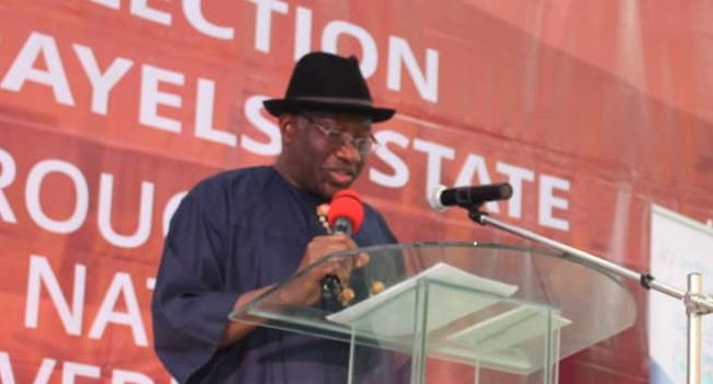 Ex-President Jonathan sends message to those desiring to govern Bayelsa