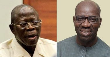 Obaseki orders aides not to respond to Oshiomhole's attacks against him