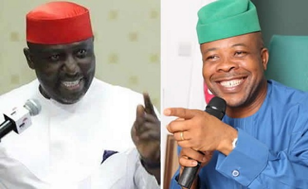 Okorocha mocks Ihedioha, says he behaves as if he is on oversight duty