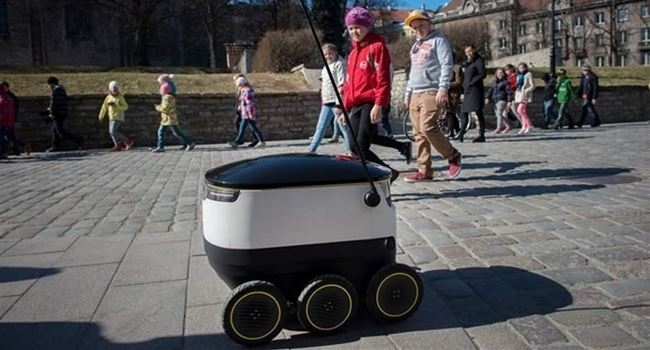 Washigton DC set to allow delivery robots operate on sidewalks