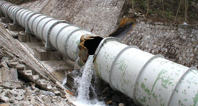Hoodlums in military uniform damage fuel pipeline in Lagos