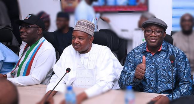 NASS LEADERSHIP: APC governors, NWC meet to perfect plans