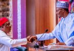 Buhari swears in chairman, 30 commissioners of RMAFC board
