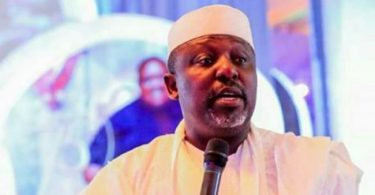 Okorocha reacts to photo showing him with certificate of return