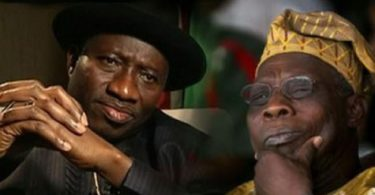 Group calls for probe, ban of former presidents Obasanjo, Jonathan