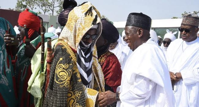 Sanusi meets Ganduje, counsels Nigerians to pray for deliverance