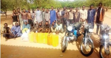 Army arrests kidnap kingpin, 20 bandits in Katsina