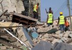 Scores trapped as 3-storey building collapses in Lagos