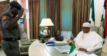 Henceforth, Military uniforms, others will be made in Nigeria –Buhari