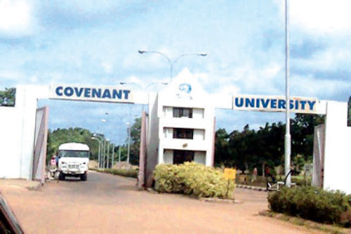 Female student hits 5.0 to emerge best graduating student ever as Covenant University graduates 1,580