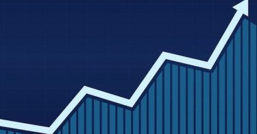 Growth graph bar