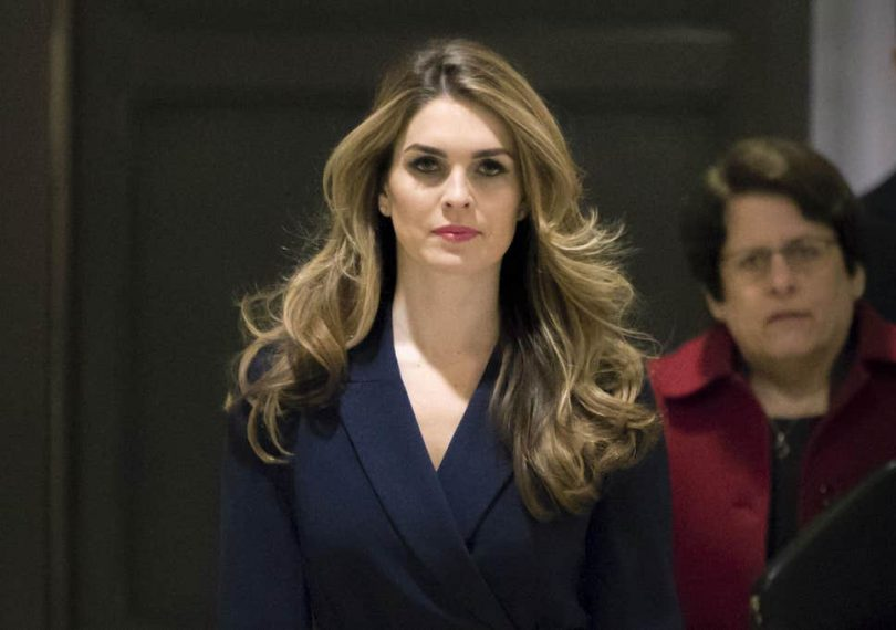 Ex-Trump aide Hicks denies money was paid to porn star Stormy Daniels to hush her