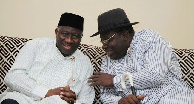 Bayelsa reacts to alleged rift between ex-President Jonathan, Gov Dickson