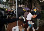 HONG KONG: Thousands of protesters defy rally ban, return to scene of gang attack