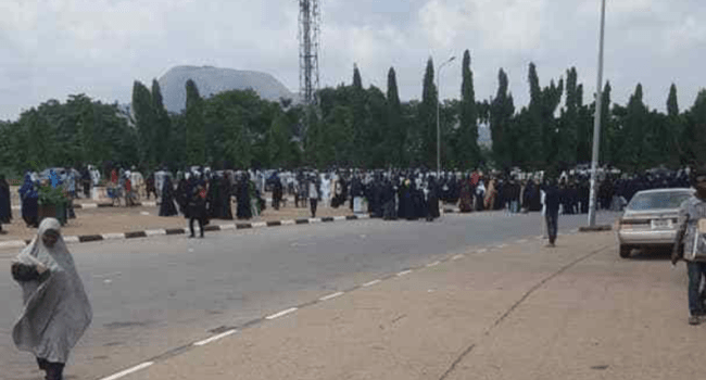 Two policemen reportedly shot at NASS, as Shi'ites protest to turns bloody