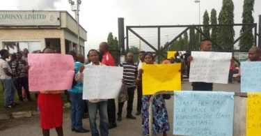 Drama as protesting workers hold Sunday service inside Warri Refinery