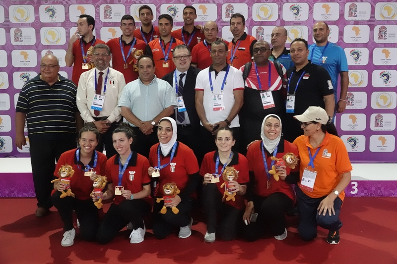 All Africa Games - Egypt Table Tennis team
