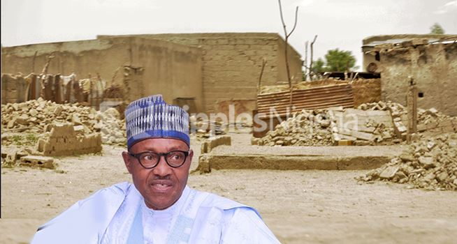 FACT CHECK.. Did Buhari's govt truly rebuild Bama in Northeast Nigeria? We investigated