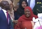 Female lawmakers protest in Kenya as MP with baby is ordered to leave parliament