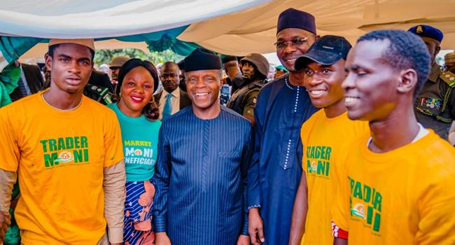Osinbajo reveals FG's plan to expand TraderMoni