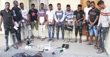 EFCC nabs 12 'yahoo boys' in Lagos school for fraudsters