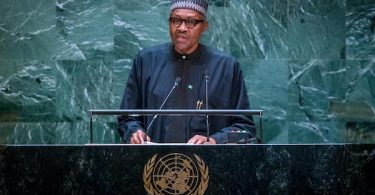 Buhari at UN