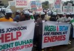 $9.6bn judgment debt attracts protests at UK embassy in Nigeria