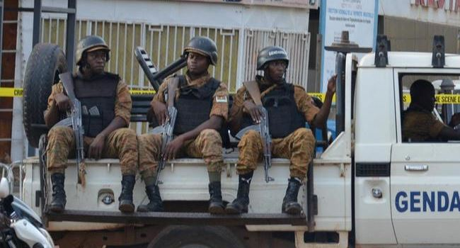 Burkina security forces hunt for perpetrators of mosque attack
