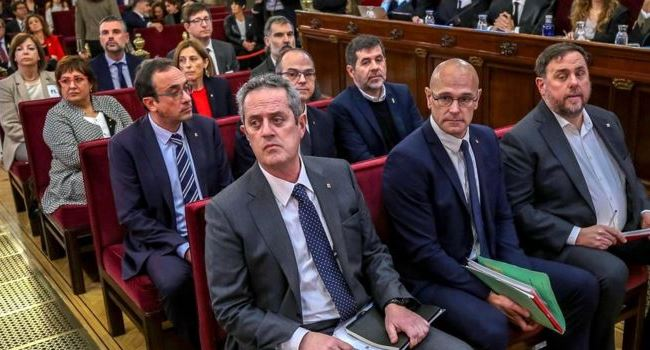 Catalan separatist leaders face 15-year jail each